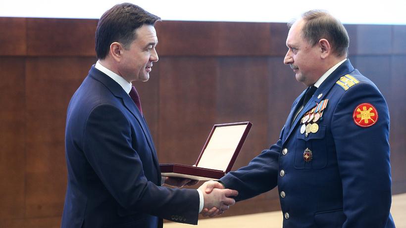 Воробьев вручил государственные награды в преддверии Дня защитника Отечества