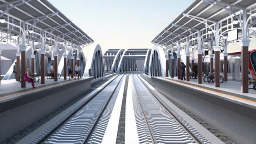 Масштабную реконструкцию участка железной дороги Каланчевская — Курская завершат в 2023 г
