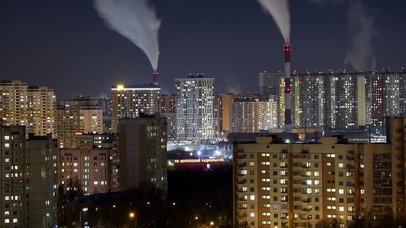 Превышения ПДК вредных веществ не выявили в Москве в результате пожара в Люберцах