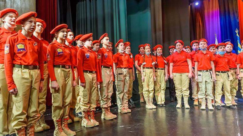 Почти 70 школьников Балашихи вступили в ряды Юнармии в четверг