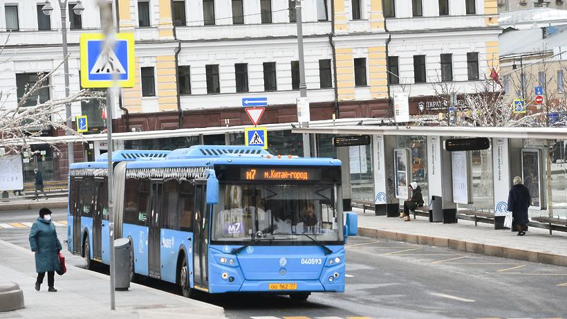 Власти рассказали, когда в Москве могут появиться автобусы на водороде