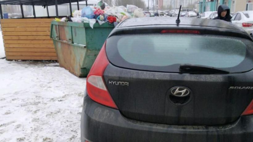Порядка 15 тыс руб штрафов заплатили автовладельцы Люберец за парковку у контейнеров