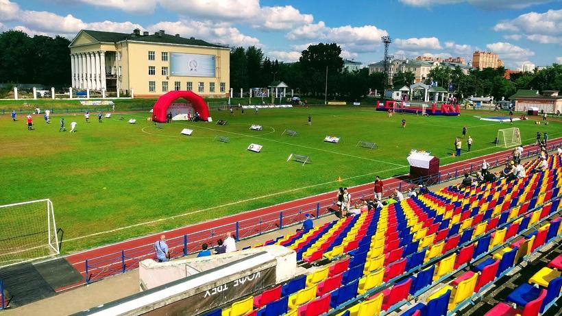 Футбольное поле обустроят в Люберцах в 2021 г