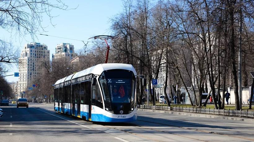 Восстановлено движение трамваев по Лесной улице в Москве