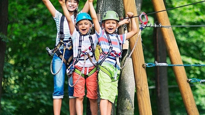 Веревочный парк в Подольске торжественно откроется 1 мая