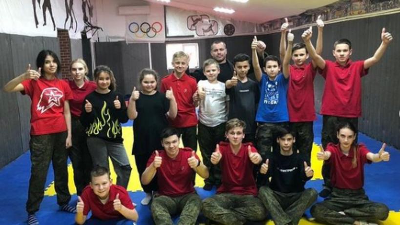 Юнармейцам Люберец показали приемы самообороны на мастер‑классе