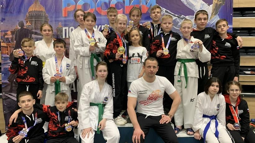 Спортсмены из Балашихи завоевали 17 медалей на Кубке России по тхэквондо