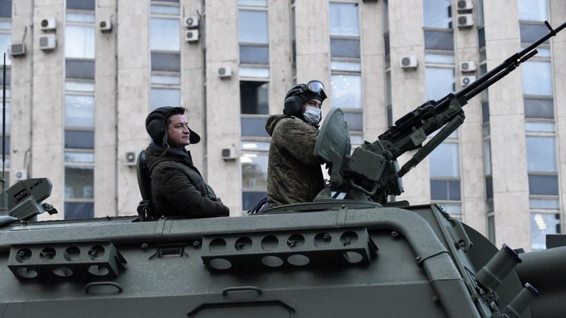 Генеральная репетиция парада Победы пройдет в Москве в пятницу