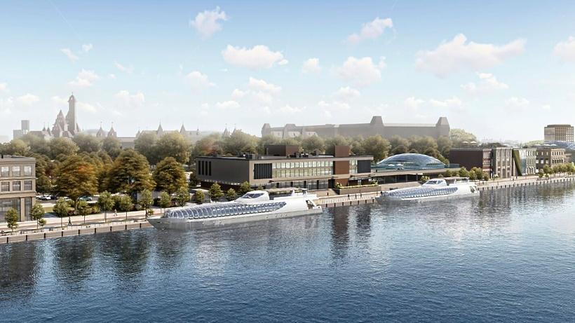 Москвичам рассказали, как изменится Южный речной вокзал столицы