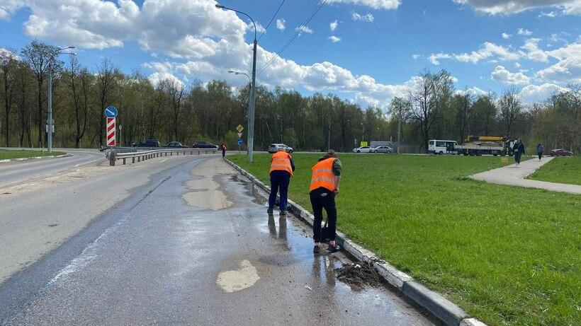 Более 460 дорог привели в порядок в Подмосковье перед Днем Победы