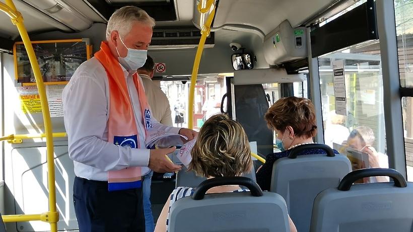 21 нарушение правил остановки и высадки пассажиров из автобуса выявили Королеве