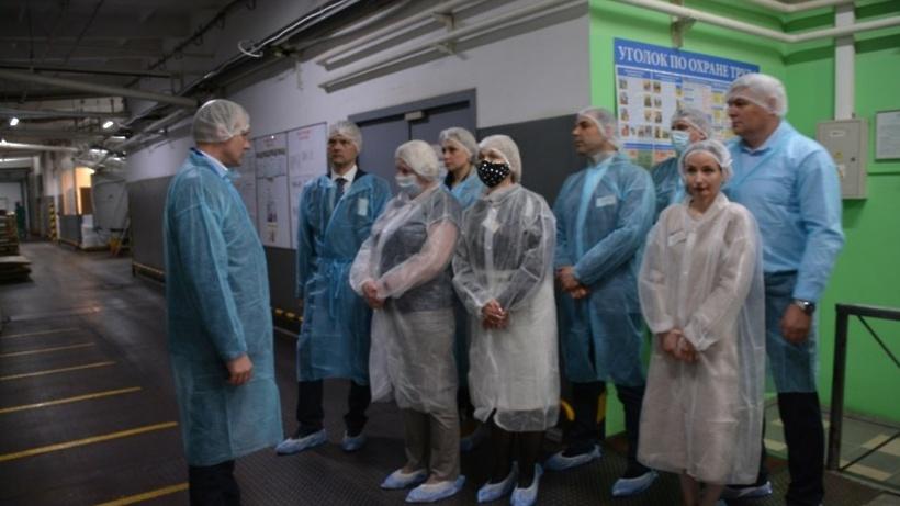 На предприятии Красногорска поделились опытом оптимизации производства