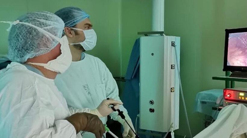Пациентку с перфоративной язвой желудка спасли в Дубненской городской больнице