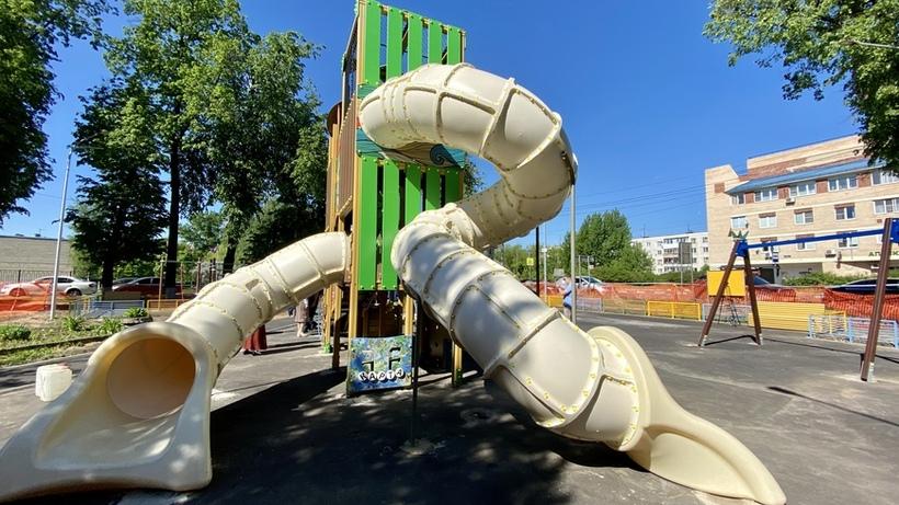 Детская площадка появится в поселке Коренево Люберец к концу мая