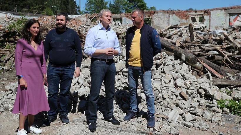 Аварийные дома на Нахабинском шоссе в Звенигороде будут полностью снесены до конца июня