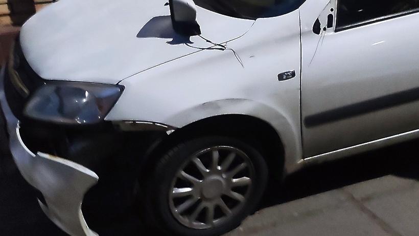 В Подольске водитель грузовика повредил 6 автомобилей и скрылся