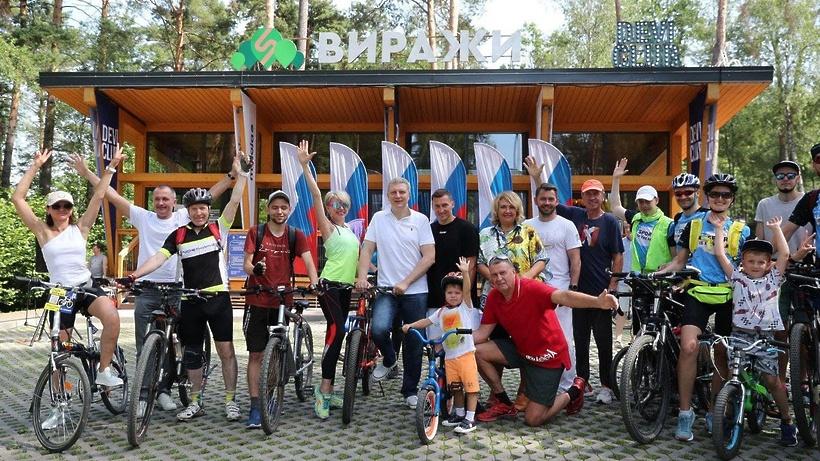 Глава Одинцовского округа открыл новый парк «Виражи» на Рублево‑Успенском шоссе