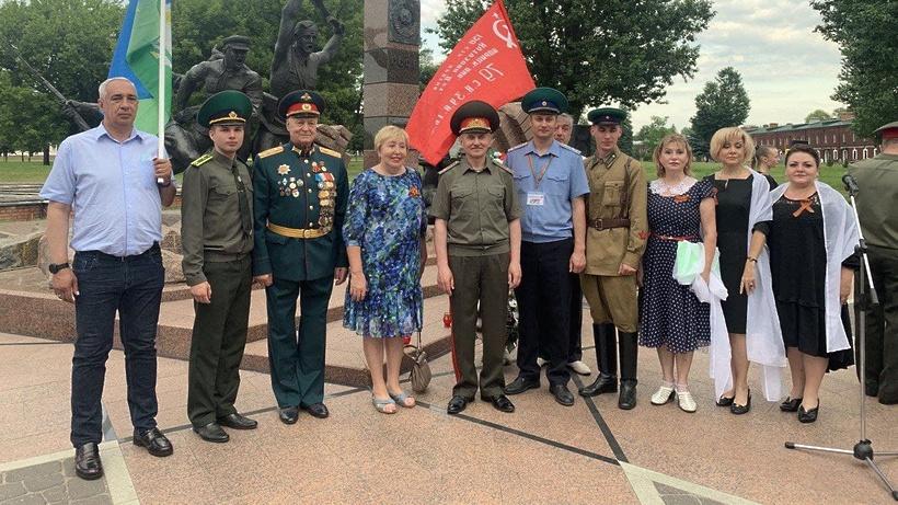 Делегация Одинцовского округа посетила Брестскую крепость