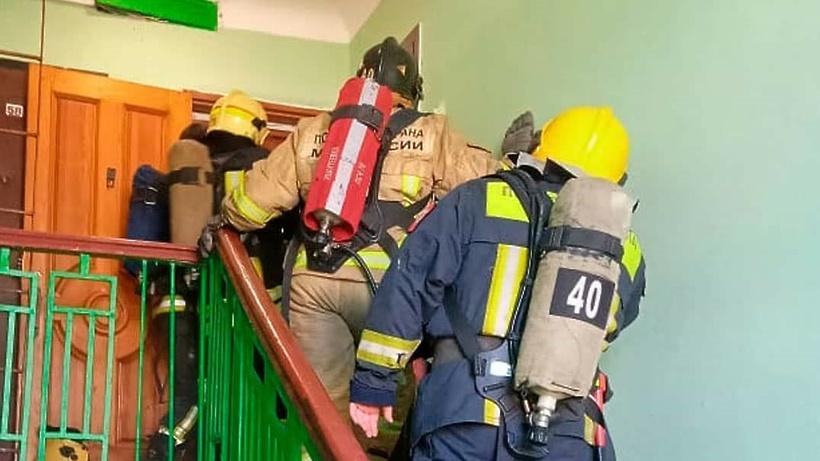 В Ивантеевке дом чуть не сгорел из‑за забытой на плите кастрюли
