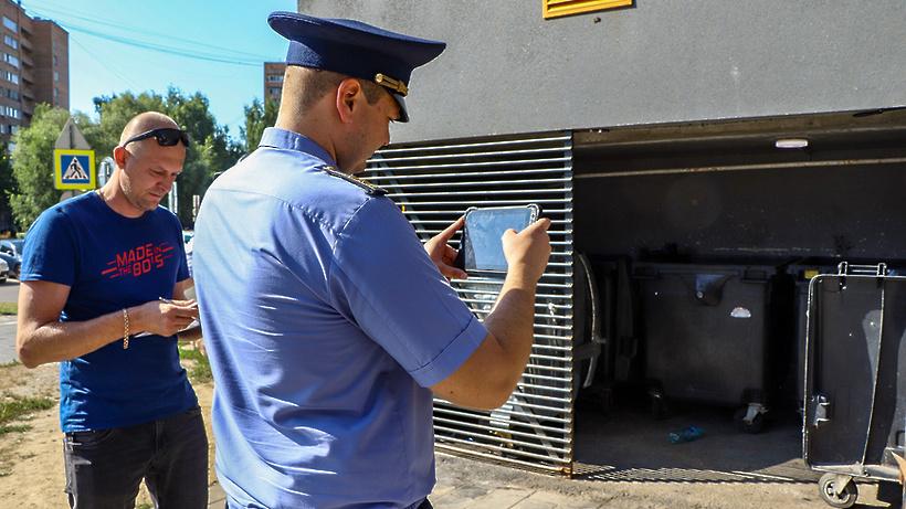 Нарушений в содержании контейнерных площадок на Юбилейной улице Мытищ не выявлено