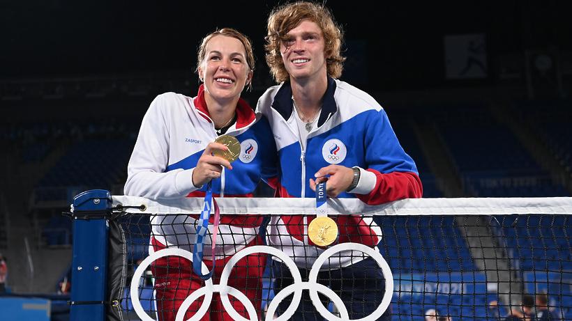 Теннисистка из Балашихи завоевала золото на Олимпиаде в Токио