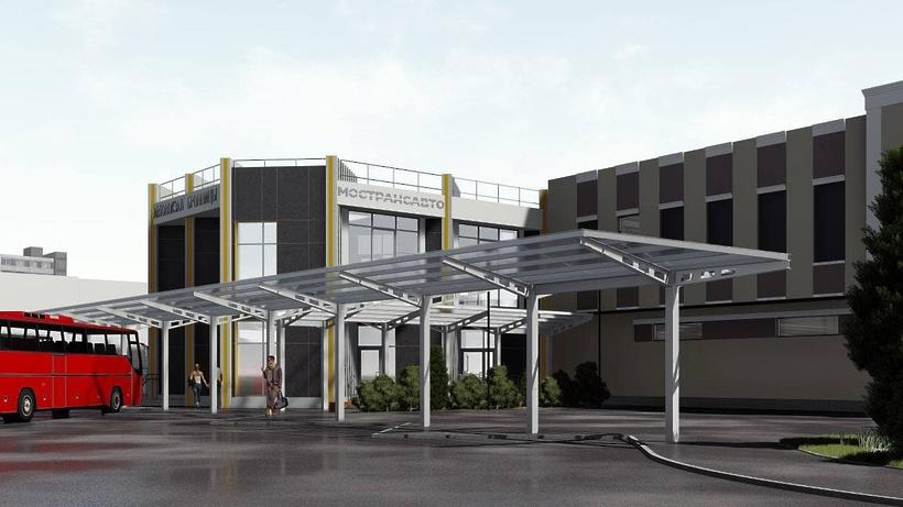 Стало известно, как будут выглядеть обновленные автовокзалы в Подмосковье