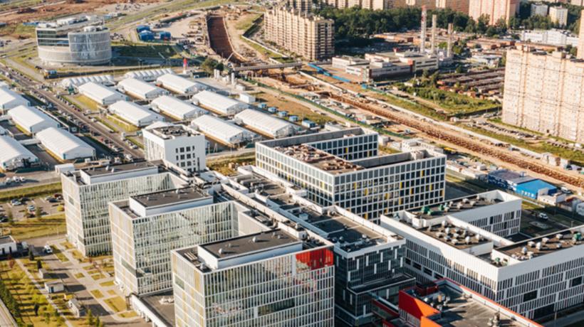 5 км дорог построили на подъезде к деловому центру «Коммунарка» в новой Москве