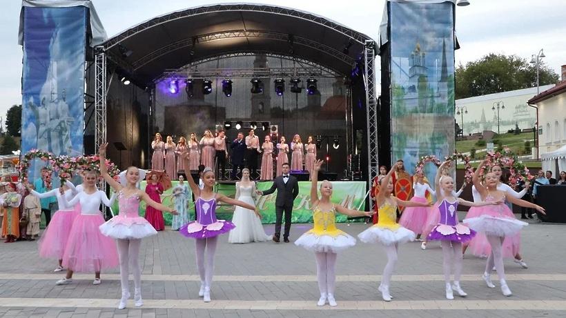 Праздничный концерт провели для жителей Волоколамска в честь Дня города