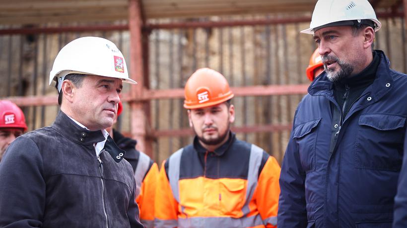Реконструкцию улицы Туполева в Жуковском завершат к концу 2022 года