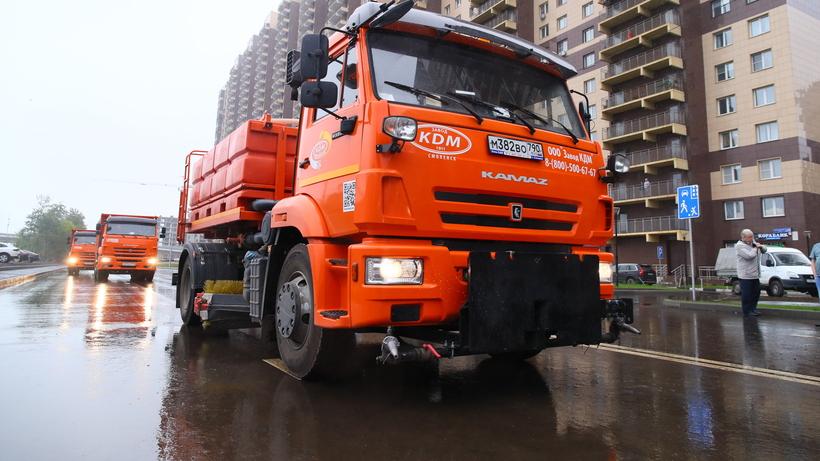 В Реутове дали старт движению автомобилей на новом участке улицы Октября