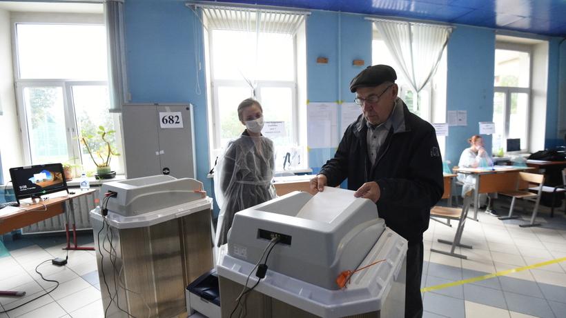 Явка на выборах в Подмосковье составила 32,5% на 12 часов 19 сентября