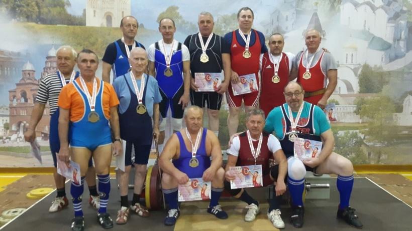 Электрогорские тяжелоатлеты заняли призовые места на всероссийском турнире